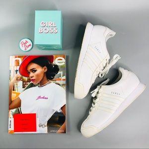 Adidas Originals Vintage 'Samoa' White Sneakers